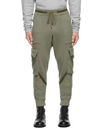 Greg Lauren Khaki Basic Army Cargo Pants