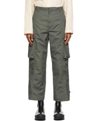 Deveaux New York Khaki Canvas Keagan Cargo Pants