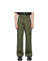 Spencer Badu Khaki Chino Cargo Pants