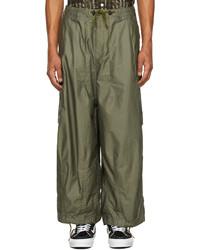 Needles Khaki Hd Cargo Pants