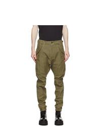 R13 Khaki Military Cargo Pants