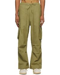 Story Mfg. Khaki Peace Cargo Pants