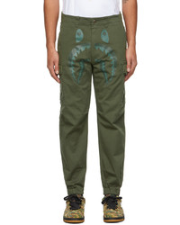 BAPE Khaki Shark 6pocket Cargo Pants