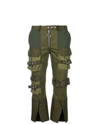 MARQUES ALMEIDA Marquesalmeida Cropped Cargo Trousers