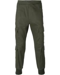 Neil Barrett Jersey Cargo Trousers