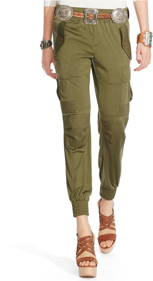 Polo Ralph Lauren Silk Military Cargo Pants | Where to buy & how ...