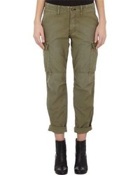Rag and Bone Rag Bone Canvas Cargo Pants Green