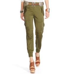 Polo Ralph Lauren Silk Military Cargo Pants