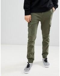 YOURTURN Skinny Jogger In Khaki