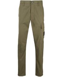 Stone Island Slim Cut Chino Trousers