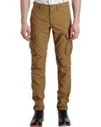 Incotex Slim Fit Cargo Pants Nude