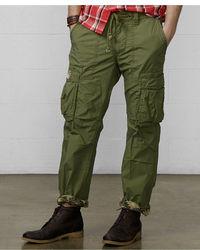 Denim & Supply Ralph Lauren Slim Fit Poplin Cargo Pants