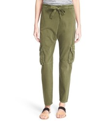 Current/Elliott The Buddy Cotton Twill Trousers