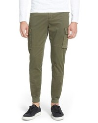 Vince Twill Cargo Jogger Pants