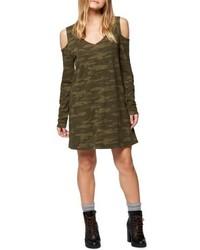 Morgan cold shoulder t shirt dress medium 4952649