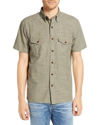 Frye Addison Chambray Woven Shirt