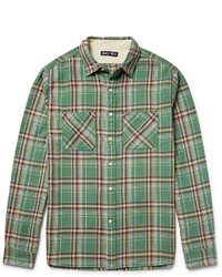 Alex Mill Checked Cotton Flannel Shirt