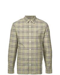 Burberry Checkered Button Shirt