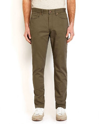 Weatherproof Canvas Five Pocket Twill Pants