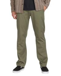 Volcom Frickin Slim Fit Modern Stretch Chino Pants
