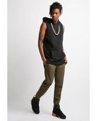 Forever 21 Gart Dyed Chino Joggers