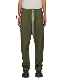 Rick Owens Green Bela Trousers
