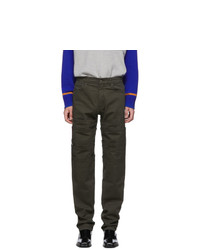 Y/Project Green Layered Trousers