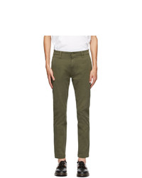 Levis Green Tapered Standard Trousers