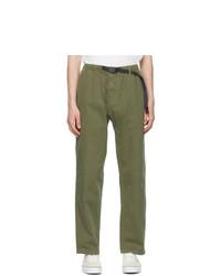 Gramicci Green Twill Trousers