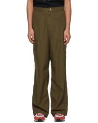 Undercover Khaki Cotton Trousers