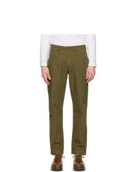 Belstaff Khaki Crewman Military Trousers
