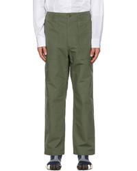 Engineered Garments Khaki Fatigue Trousers