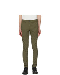 Rag and Bone Khaki Fit 1 Classic Chino Trousers
