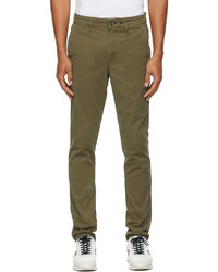 rag & bone Khaki Fit 2 Chino Trousers