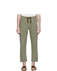 Nanushka Khaki Nova Trousers
