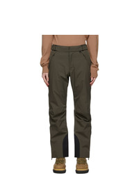 MONCLER GRENOBLE Khaki Ski Trousers