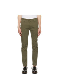 Levis Khaki Slim Xx Chino Trousers