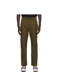 Levis Made and Crafted Khaki Standard Chino Trousers