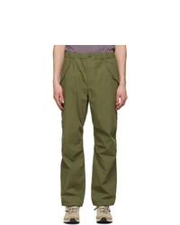 GOLDWIN Khaki Wide Easy Wind Trousers