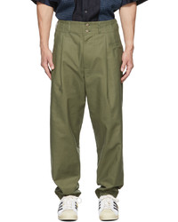 Nicholas Daley Pleated Trousers
