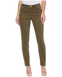 NYDJ Skinny Chino Pants W Zipper Casual Pants