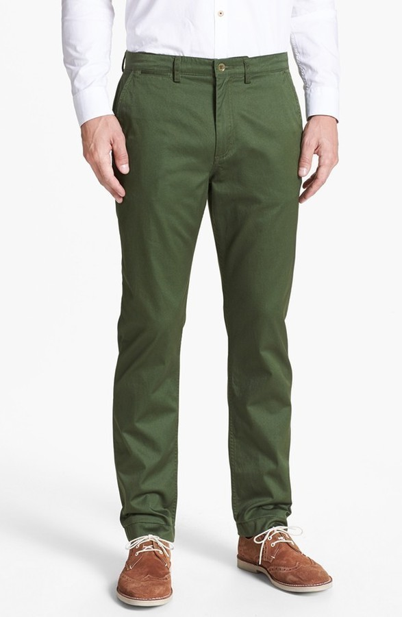 Fred Perry Slim Fit Twill Chinos