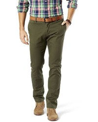 Dockers Slim Tapered Fit Washed Khaki Pants