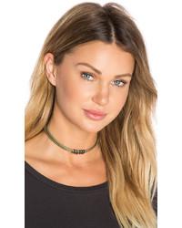 Natalie B Jewelry Janelle Snake Skin Choker