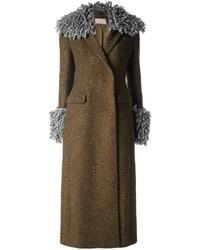 Christopher Kane Long Tailored Coat