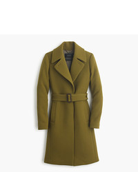 J.Crew Double Cloth Belted Trench Coat