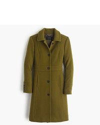 J.Crew Double Cloth Lady Day Coat With Thinsulate