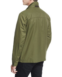 Tom Ford Short Field Coat Olive