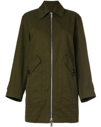 Dsquared2 Zipped Military Coat