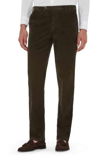 Zanella Curtis Stretch Corduroy Cotton Trousers